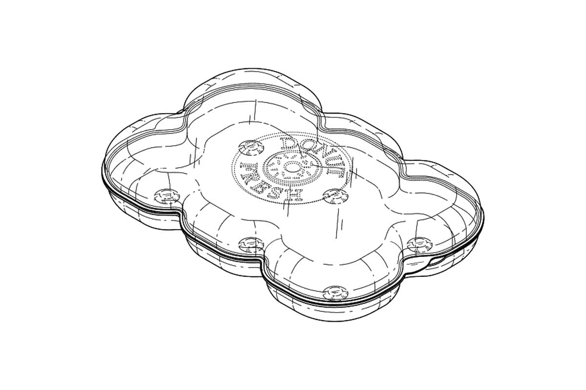 Patent, Donut Container