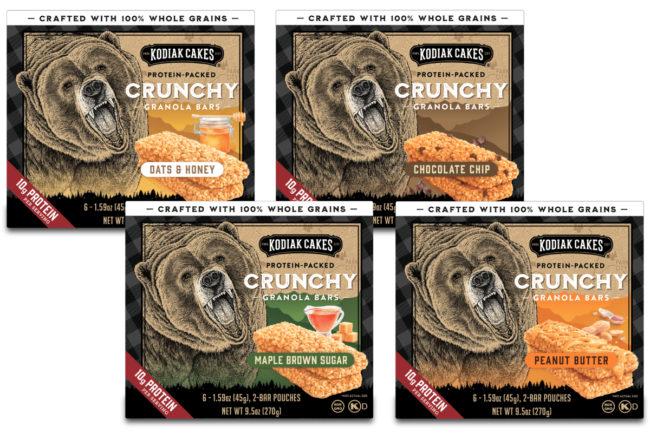Kodiak Cakes Crunchy Granola Bars
