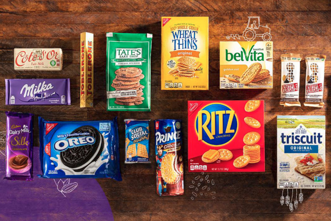 Mondelez snacks