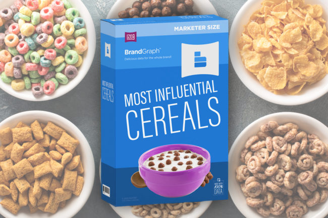IZEA most influential cereals