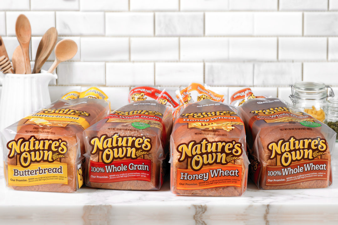 Nature's Own bread varieties