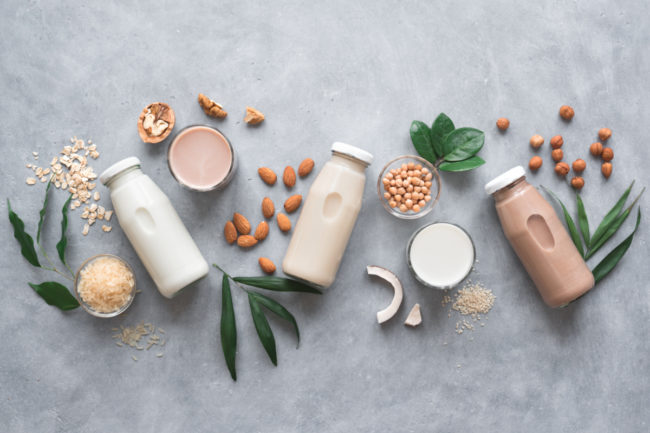 Plant-based milk alternatives
