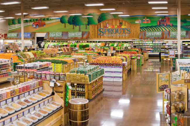 Sprouts store interior