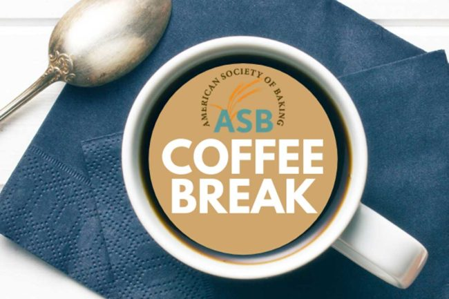 American Society of Baking, Coffee Break