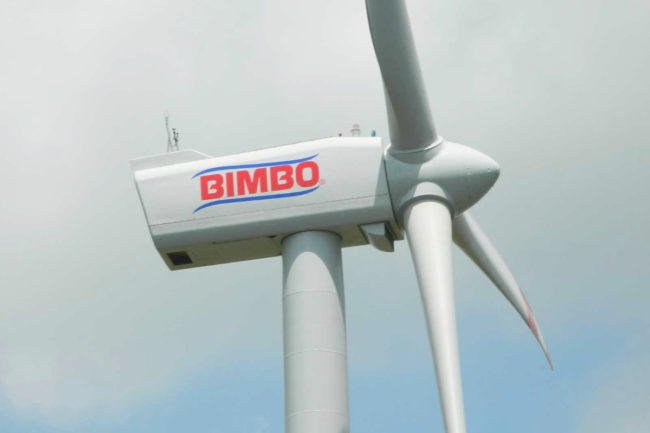 Grupo Bimbo wind farm