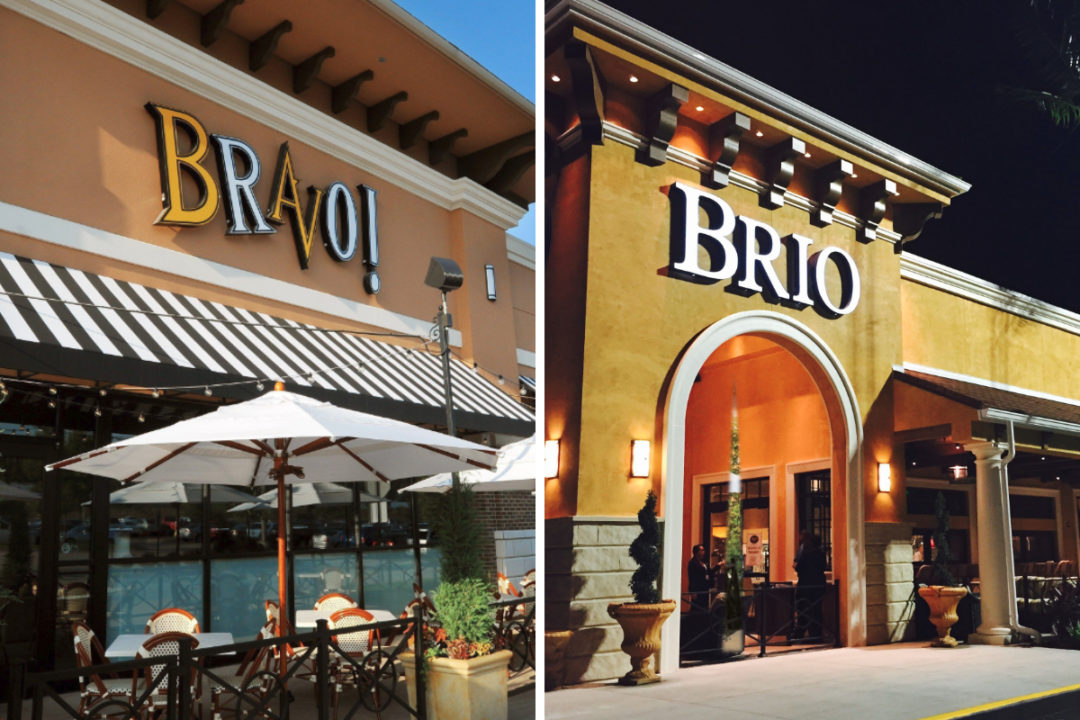 Bravo! and Brio restaurants