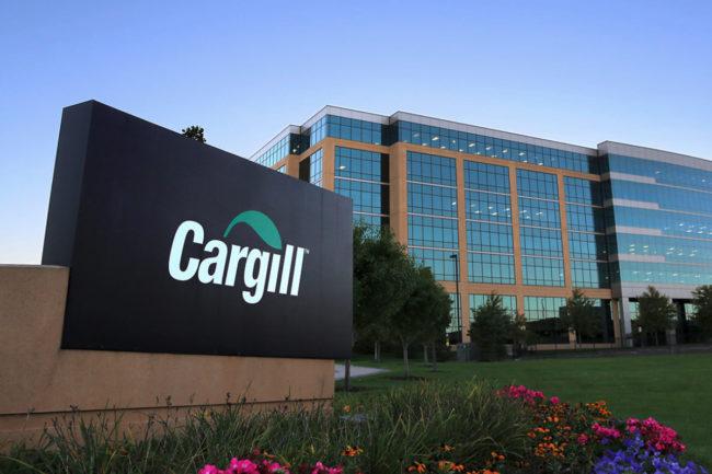 Cargill HQ sign