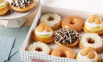 Dessert doughnuts lead