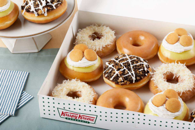 Krispy Kreme dessert doughnuts collection