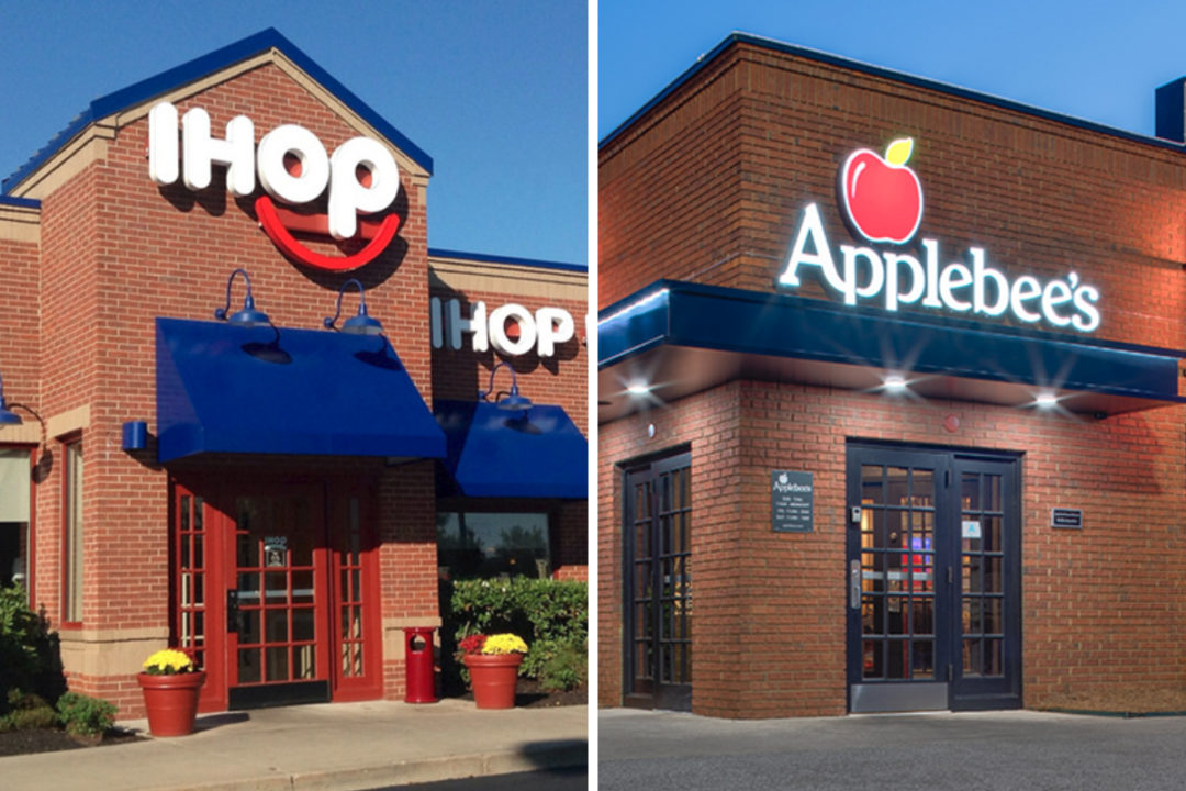 IHOP and Applebee's restaurants