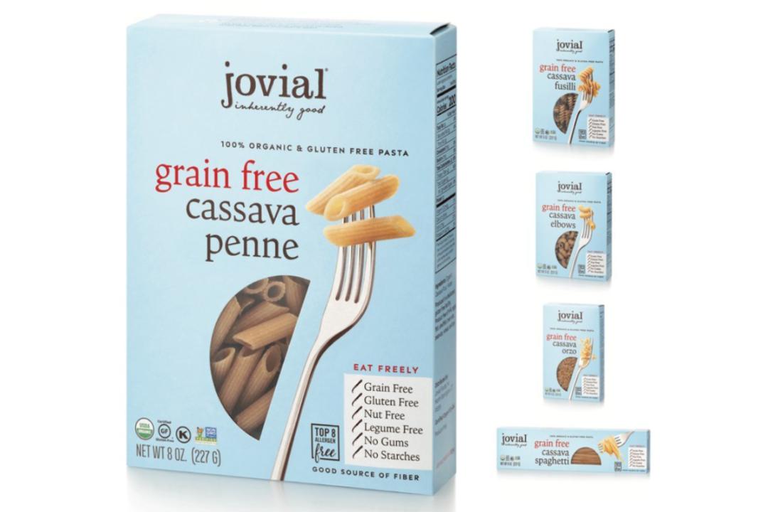 Jovial Foods' cassava pasta