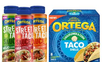 Ortega sauce and shell lead