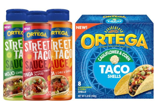 Ortega Street Taco Sauces and Caulicorn Shells