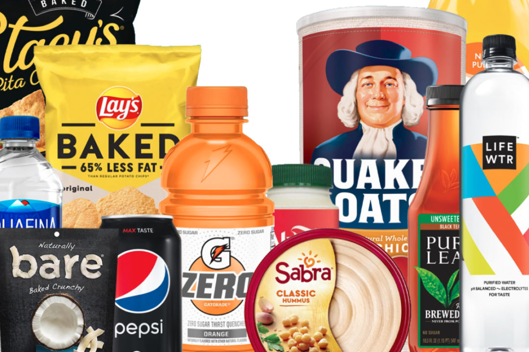 PepsiCo health focus products