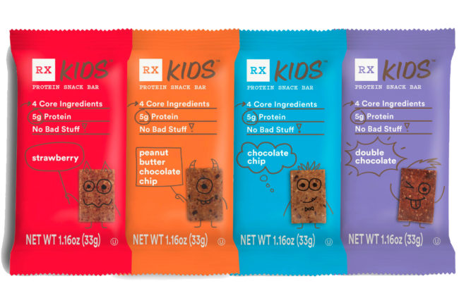 RX Kids Protein Snack Bars