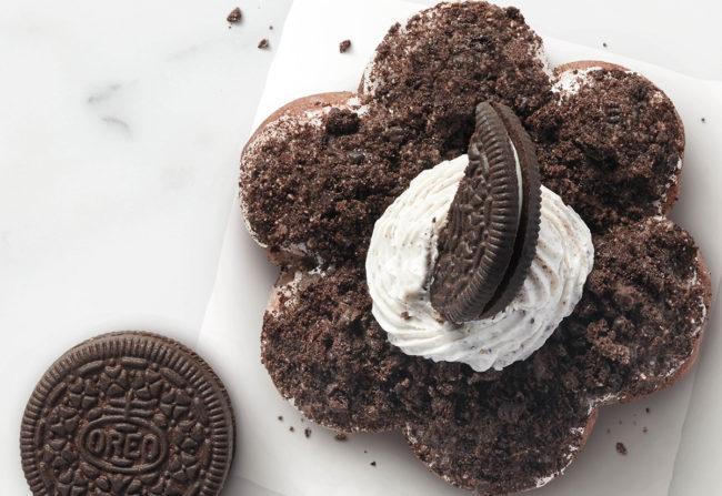 Tim Hortons Oreo Cookie Dream Donut