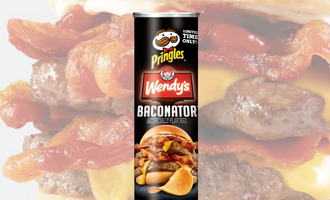 Baconator pringles lead