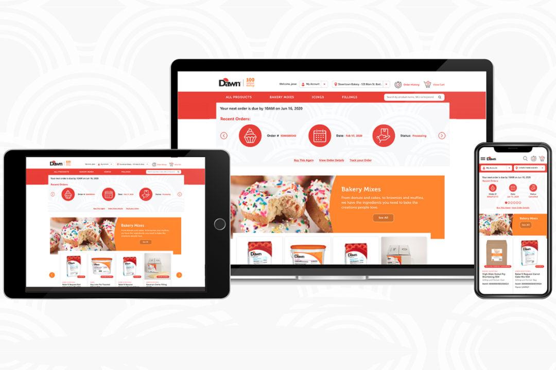 Dawn Foods e-commerce platform