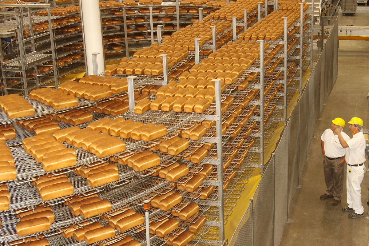 Flowers Foods bread production