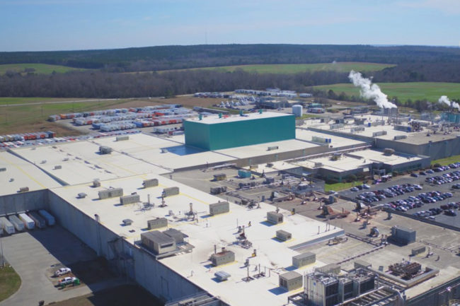 Frito-Lay snack manufacturing plant in Perry, GA