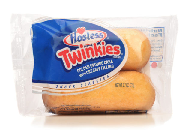 Single-serve Hostess Twinkies