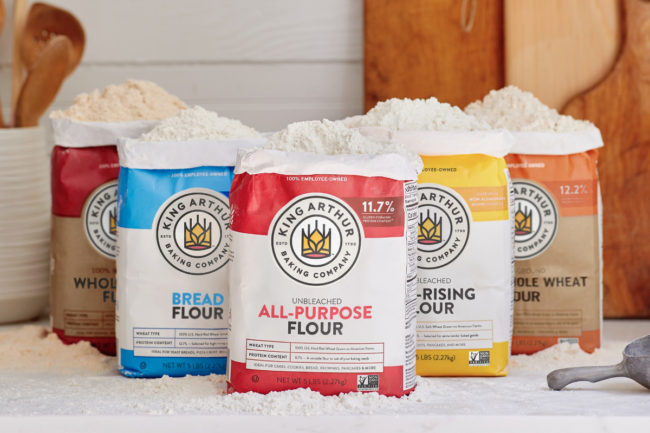 King Arthur Baking Co. flour