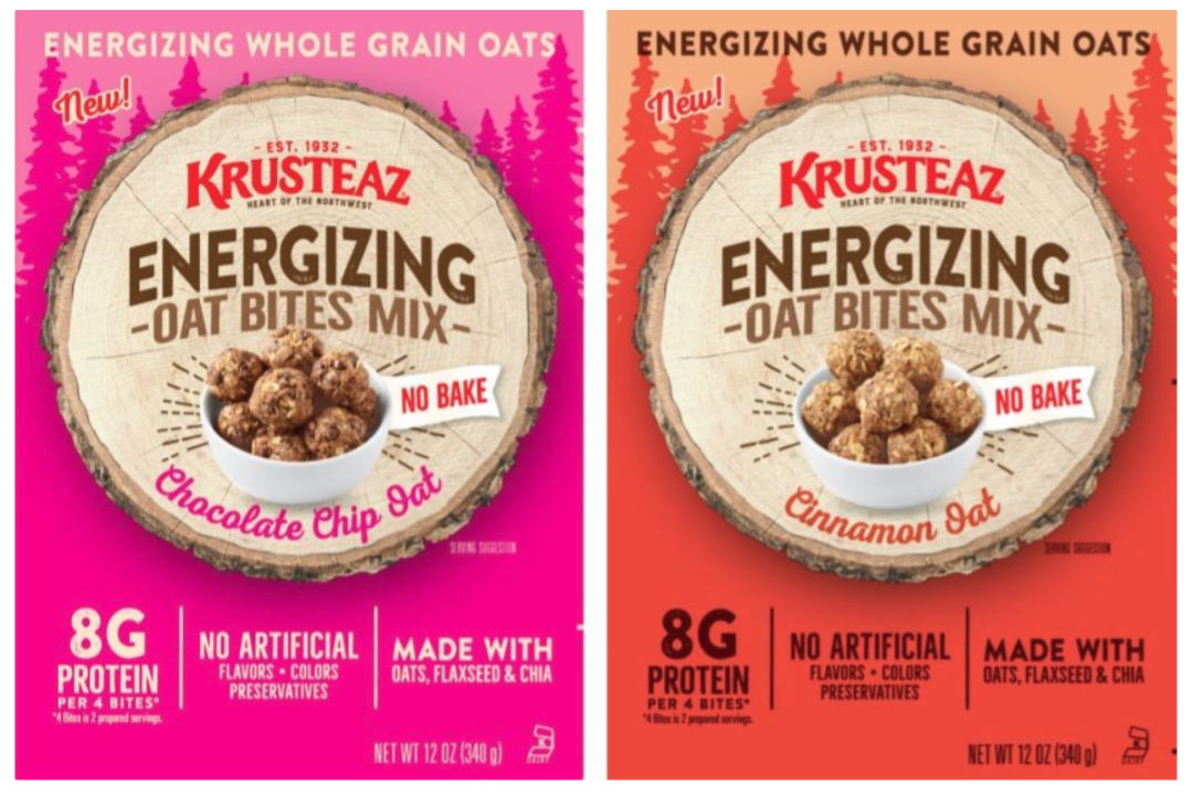 Krusteaz Energizing Oat Bites Mixes