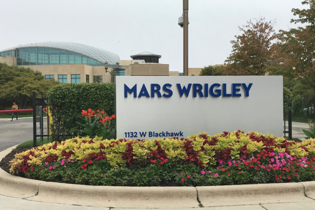 Mars Wrigley facility sign