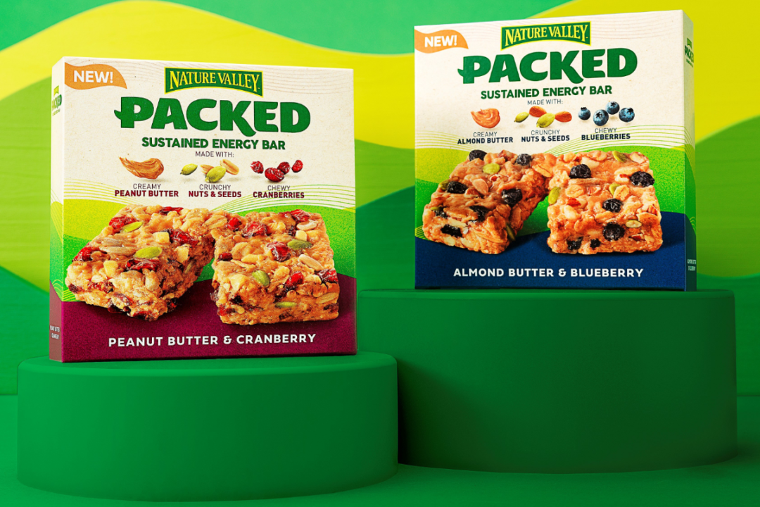 Nature Valley packed snack bars from General Mills