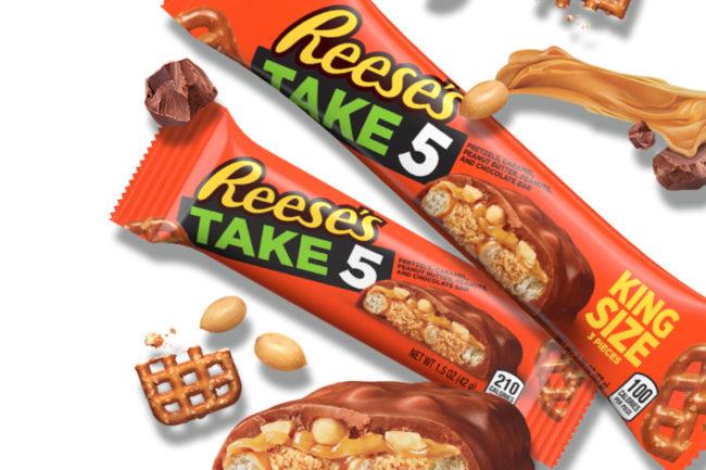 Reese's Take 5 bars