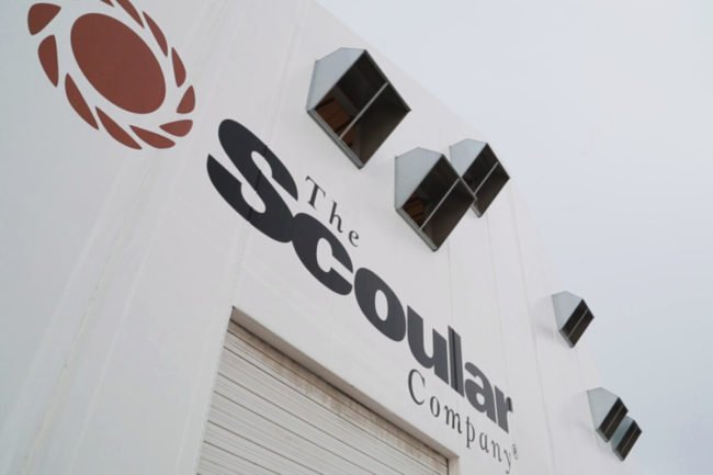 The Scoular Co. facility signage