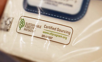 Sustainablysourcedlabel lead