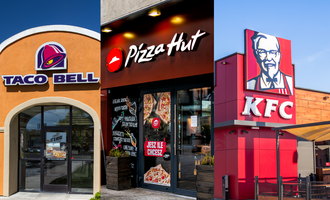 Yum brands taco bell and habit burger grill