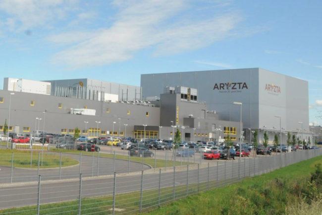 Aryzta bakery plant