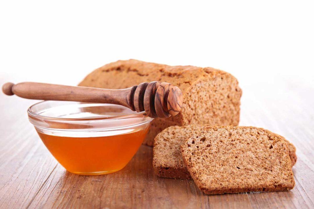 Honey, bread