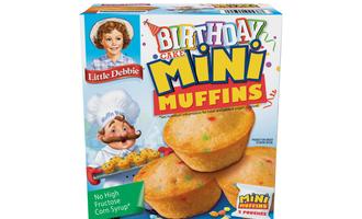 Little debbie birthday cake mini muffin lead
