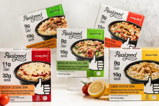 Real Good Foods grain-free bowls