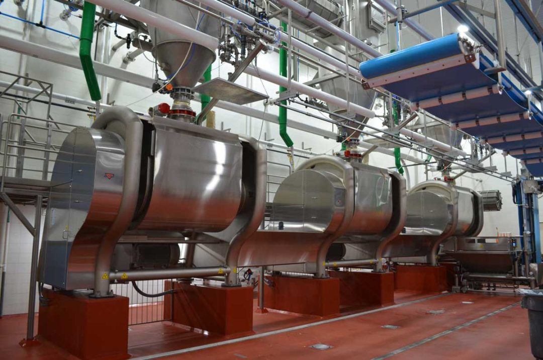 AMF Bakery Systems, Mixing