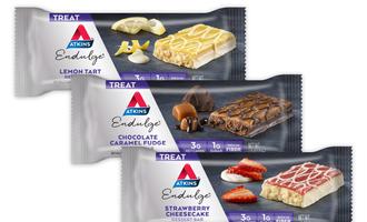 Atkins dessert bars lead