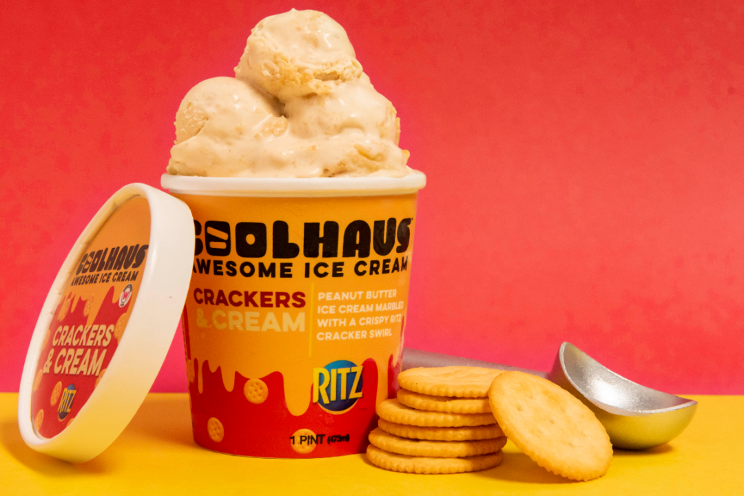 Crackers and Cream Ice Cream from Coolhaus Ice Cream