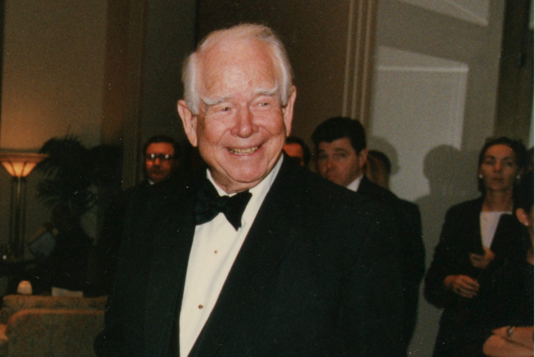 Donald M. Kendall, longtime chief executive officer of Pepsi-Cola and PepsiCo, Inc.,