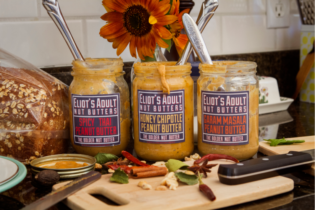 Adult Nut Butters from Eliot's Nut Butters