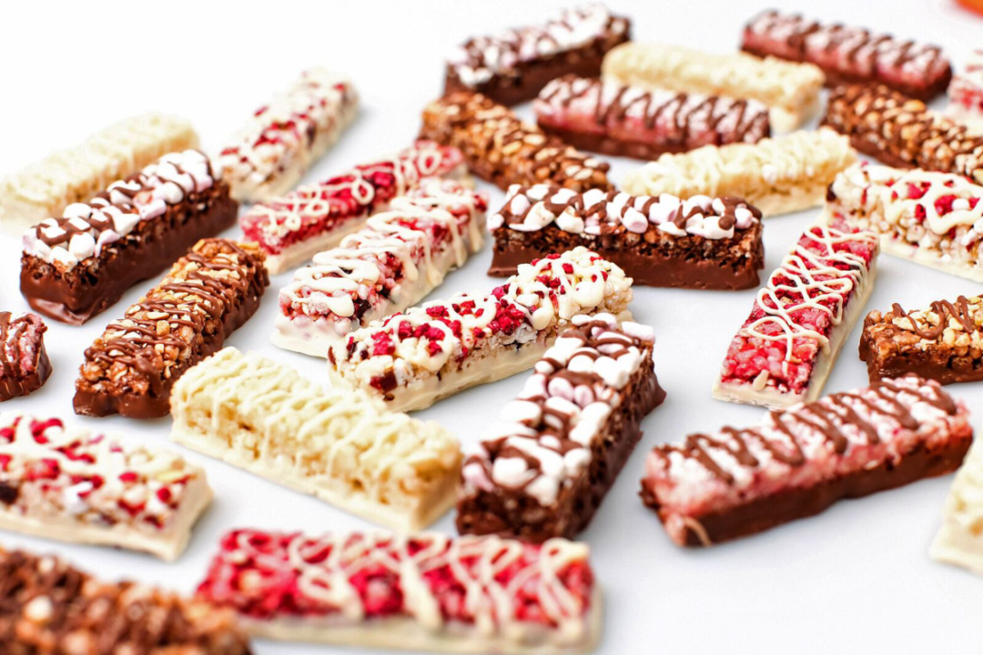 Variety of snack bars from Halo Foods