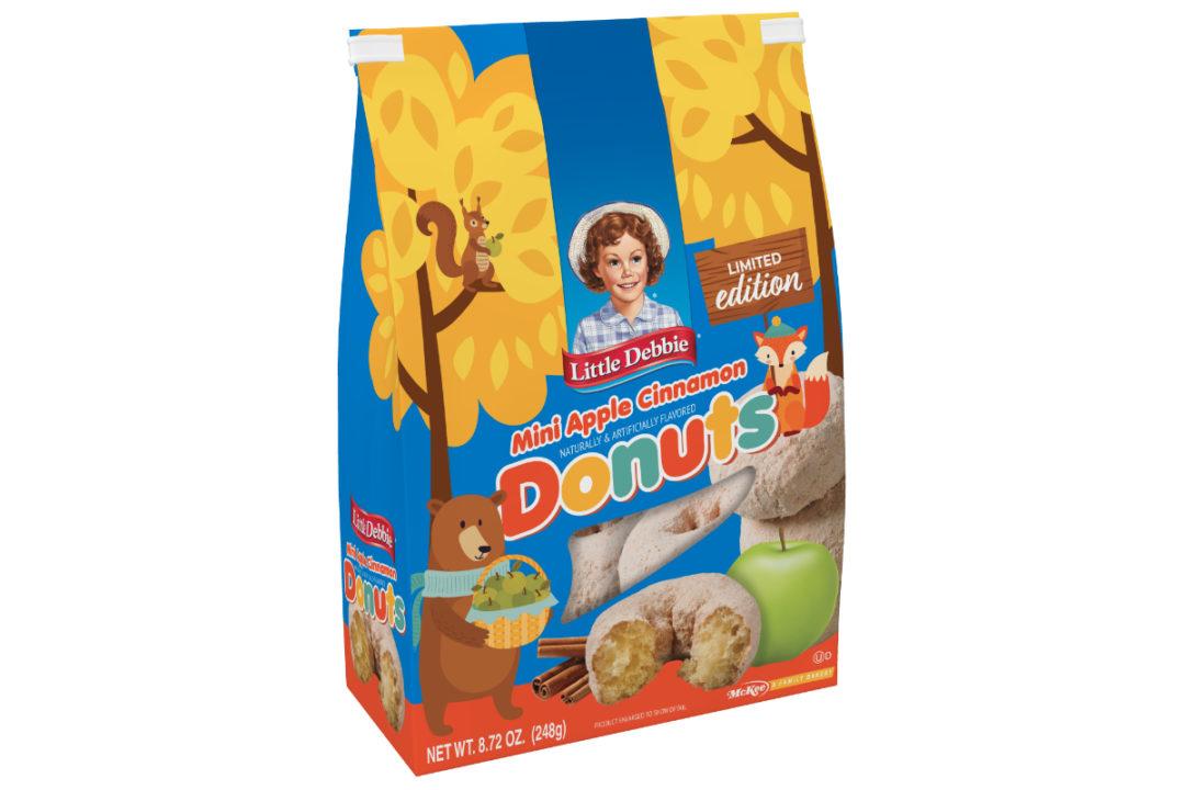 Little Debbie apple cinnamon mini donuts