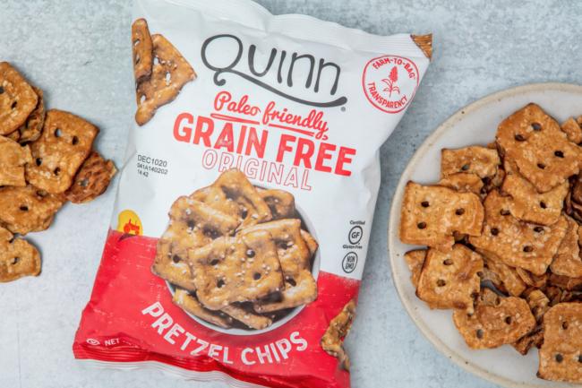 Quinn Snacks' Pretzel Chips
