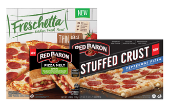 Schwans pizza items lead