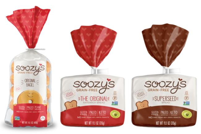 Soozsy's Grain Free bread and bagels