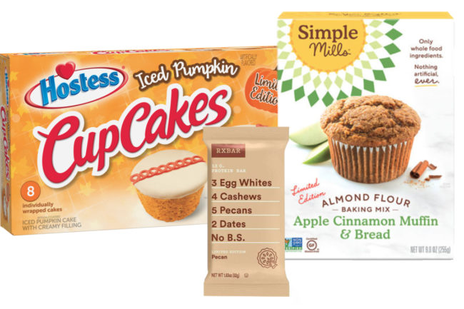 New fall products from Hostess, Kellogg, Simple Mills