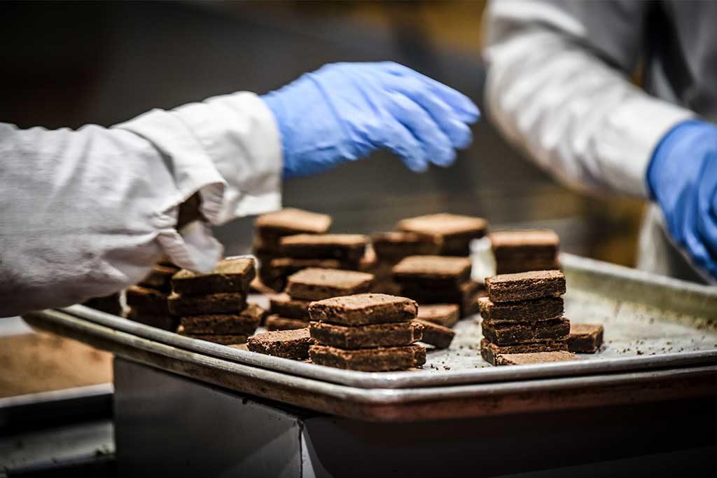 Greyston, Baking