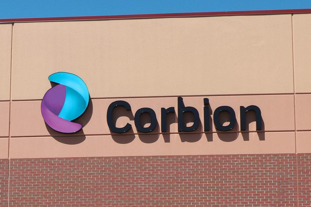 Corbion sign